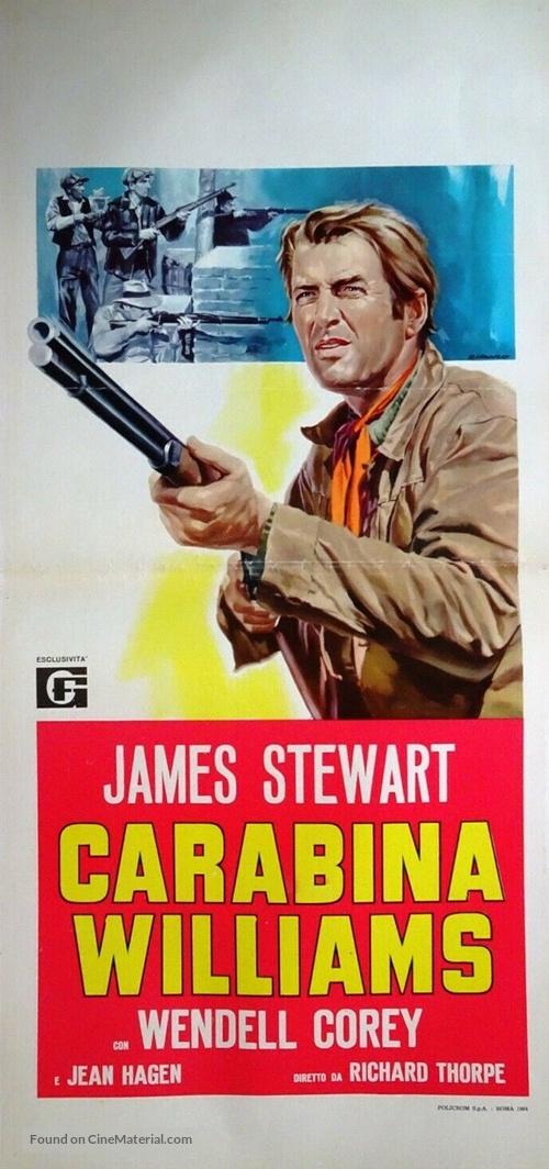 Carbine Williams - Italian Movie Poster