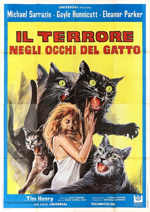 Eye of the Cat - Italian Movie Poster