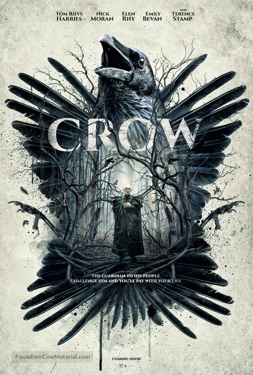 Crow - British Movie Poster