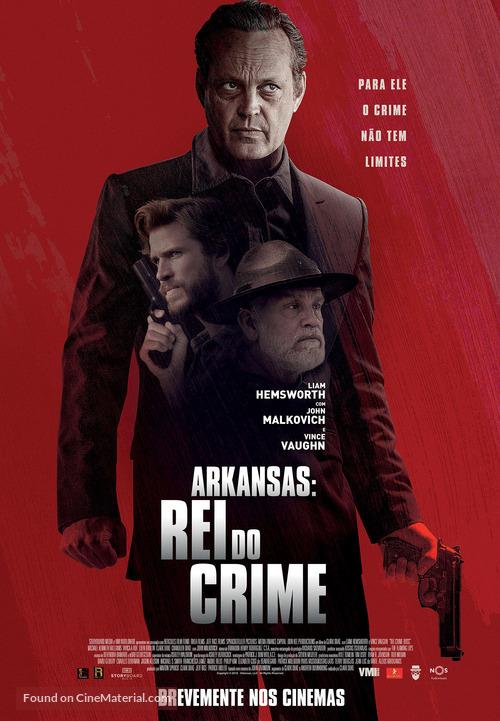 Arkansas - Portuguese Movie Poster