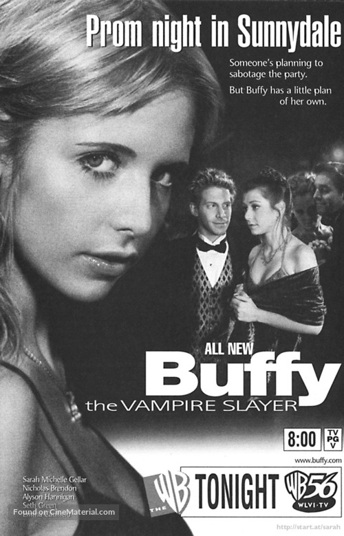 """Buffy the Vampire Slayer"" - poster"