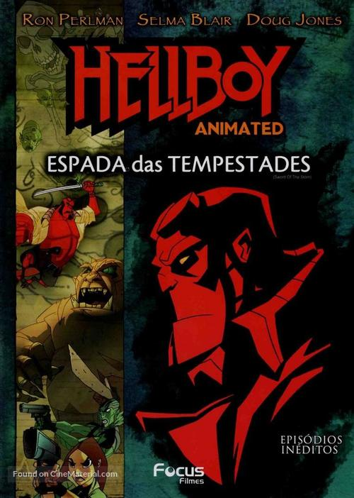 Hellboy: Sword of Storms - Brazilian Movie Cover