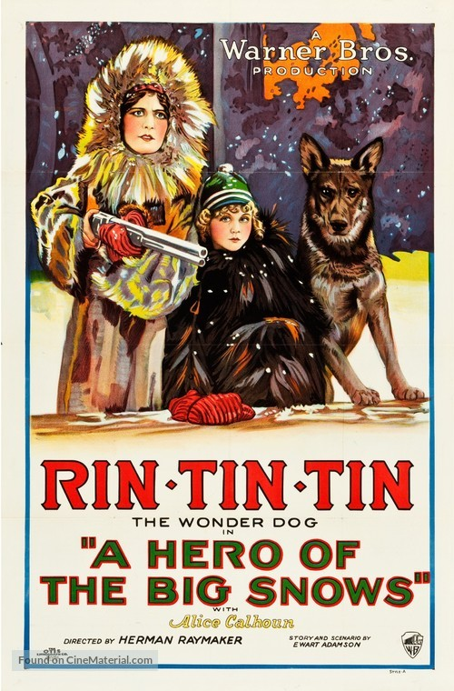 A Hero of the Big Snows - Movie Poster