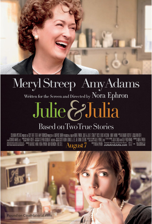 Julie & Julia - Movie Poster