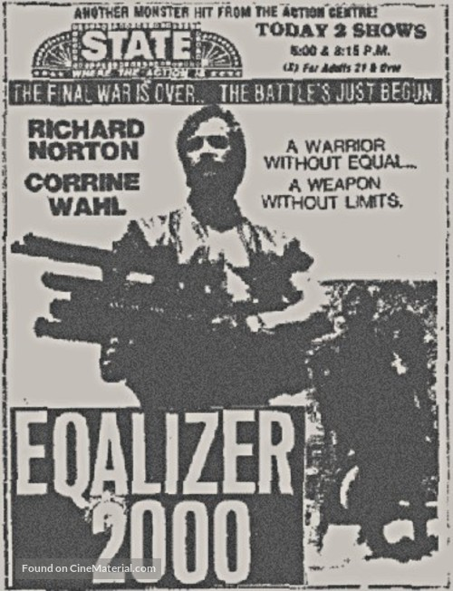 Equalizer 2000 - poster