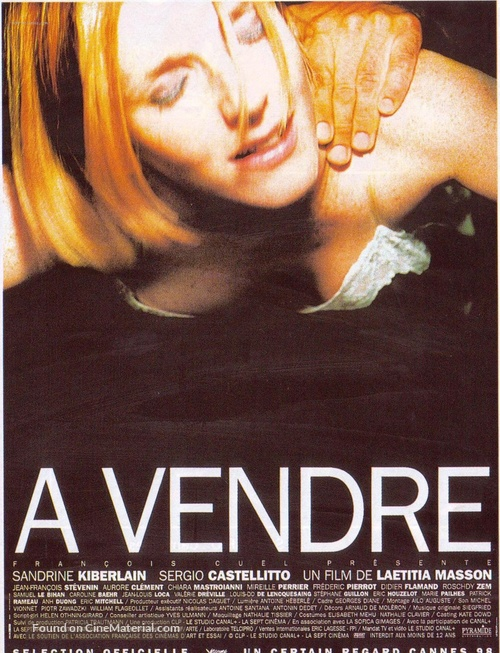 À vendre - French Movie Poster