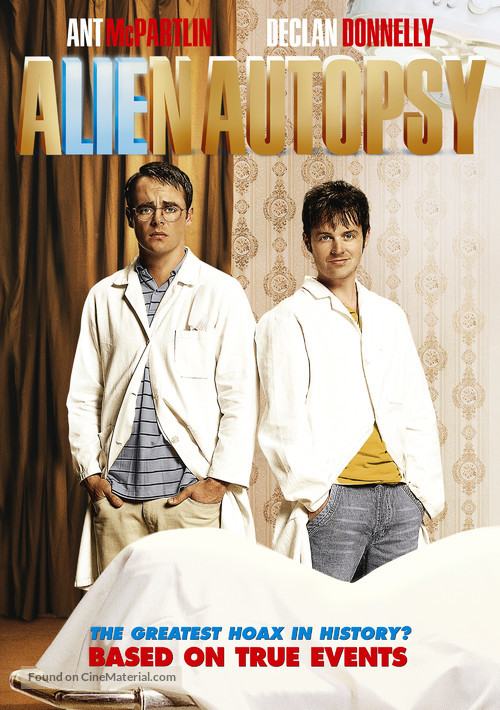 Alien Autopsy - DVD movie cover