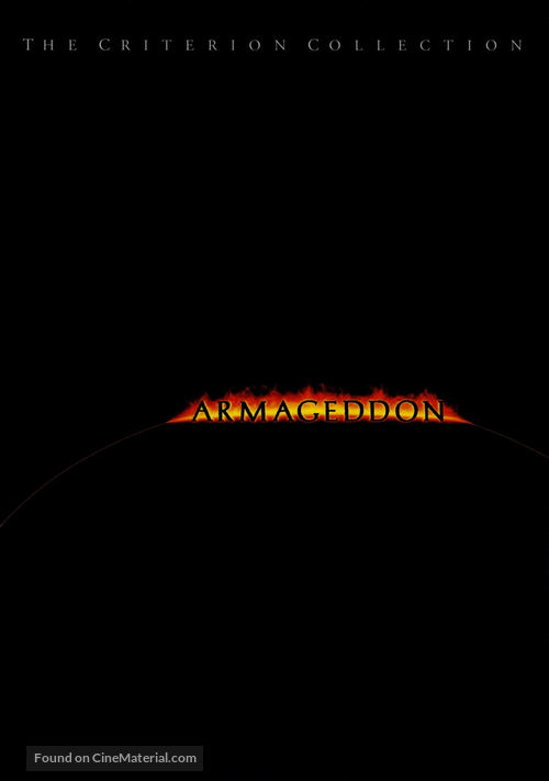 Armageddon - DVD movie cover