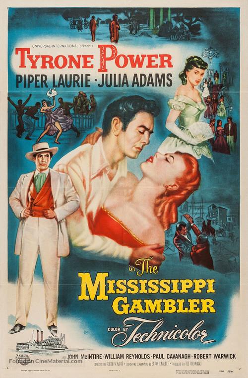 The Mississippi Gambler - Movie Poster