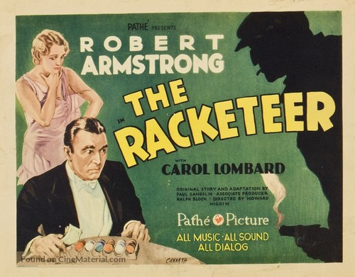 The Racketeer - Movie Poster
