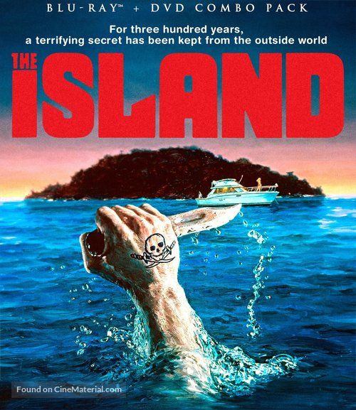 The Island - Blu-Ray movie cover