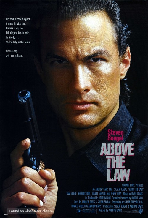 Above The Law - Movie Poster
