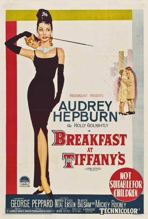 Breakfast at Tiffany's - Australian Movie Poster