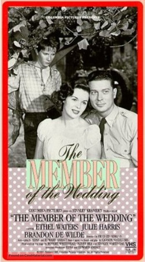 the member of the wedding The story: the times wrote of this play: carson mccullers' report of a harum-scarum adolescent girl in georgia is wonderfully—almost painfully—perceptive and her associated sketches of a negro mammy and a busy little boy are.