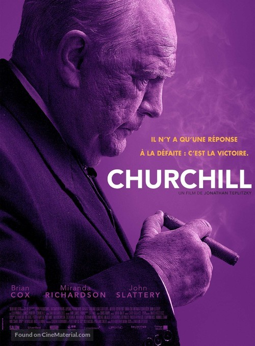 Churchill - French Movie Poster