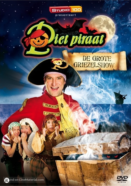 """""""Piet Piraat"""" - Belgian DVD movie cover"""