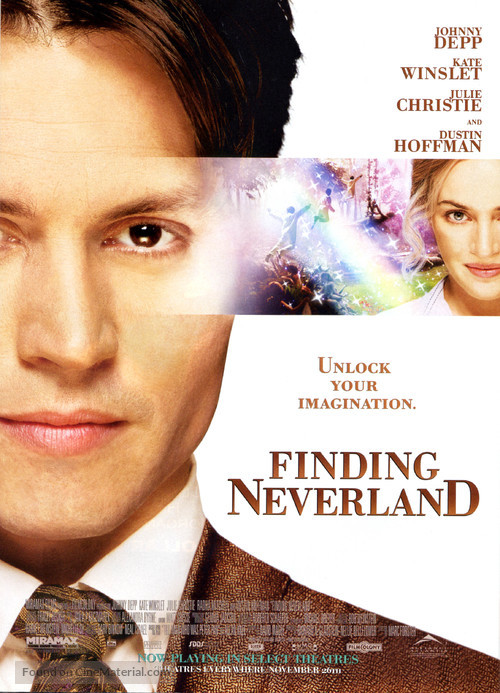 Finding Neverland - Movie Poster