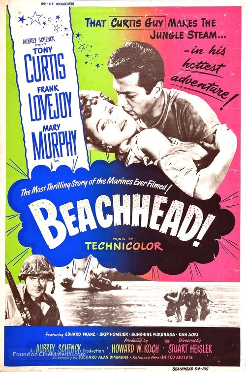 Beachhead - Movie Poster