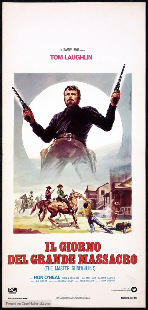 The Master Gunfighter - Italian Movie Poster