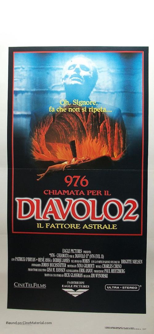 976-Evil II - Italian Movie Poster