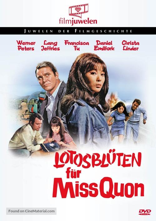 Lotosblüten für Miss Quon - German DVD movie cover