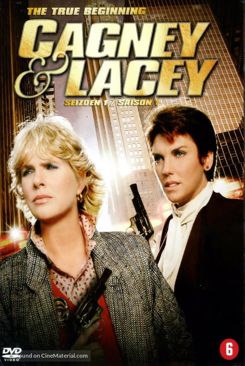 """Cagney & Lacey"" - German Movie Cover"