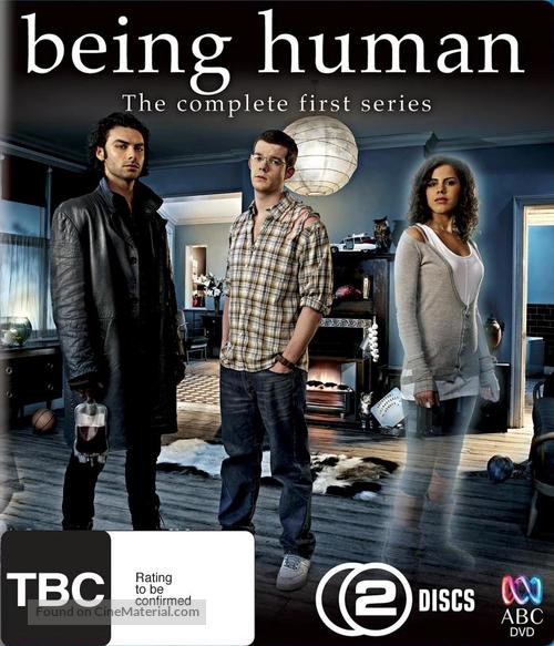 """""""Being Human"""" - New Zealand Blu-Ray movie cover"""
