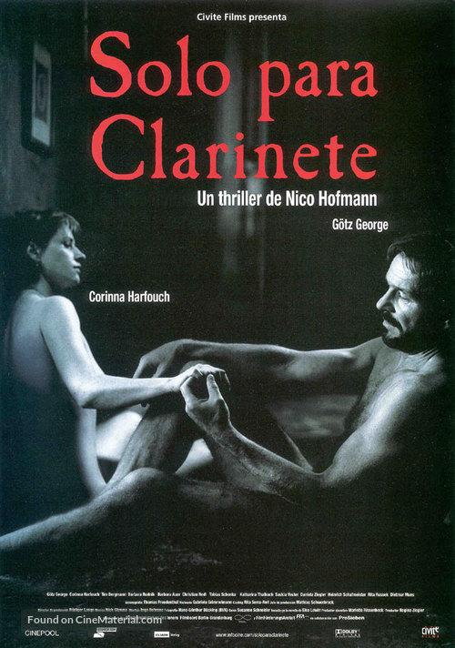 Solo für Klarinette - Spanish poster