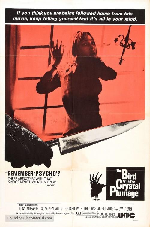 L'uccello dalle piume di cristallo - Movie Poster
