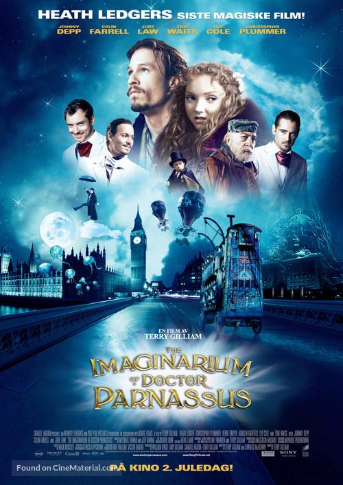 The Imaginarium of Doctor Parnassus - Norwegian Movie Poster