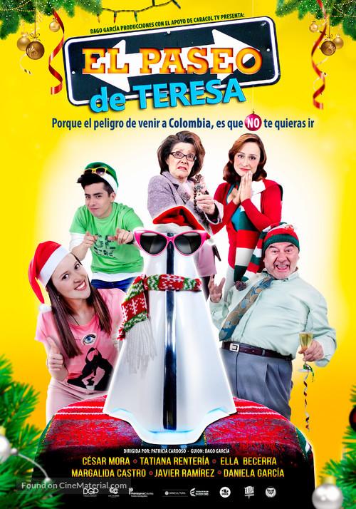 El Paseo De Teresa - Colombian Movie Poster