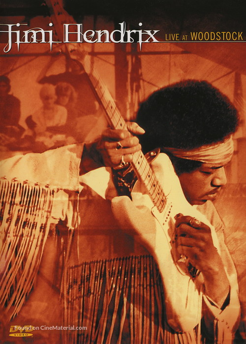 Jimi Hendrix: Live at Woodstock - poster
