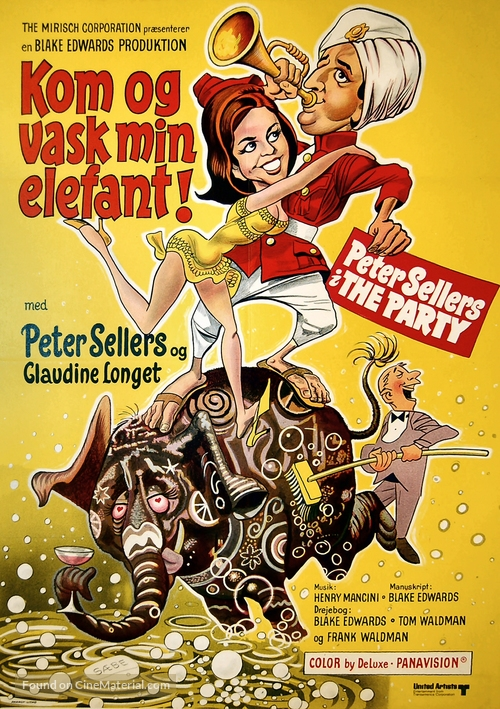 The Party - Danish Movie Poster