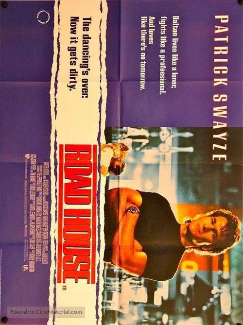 Road House - British Movie Poster