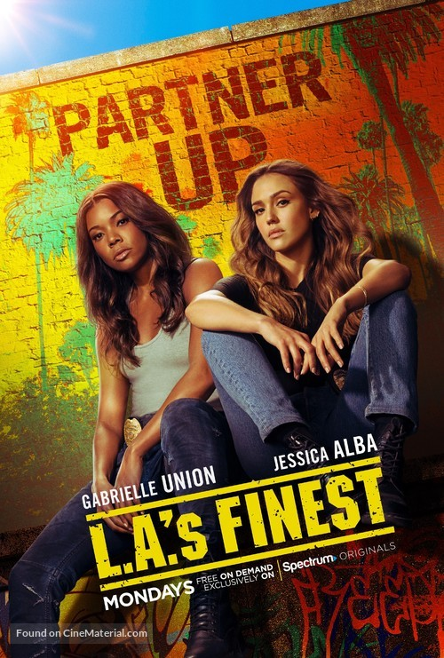 """""""L.A.'s Finest"""" - Movie Poster"""