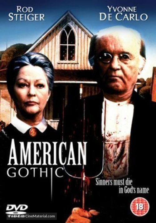 American Gothic - British DVD movie cover