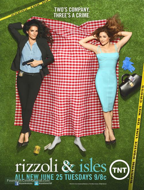 """Rizzoli & Isles"" - Movie Poster"