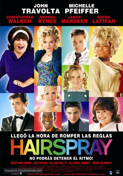 Hairspray - Argentinian Movie Poster