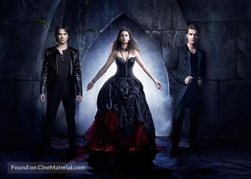 """The Vampire Diaries"" - Key art"