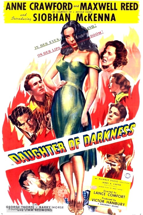 Daughter of Darkness - British Movie Poster