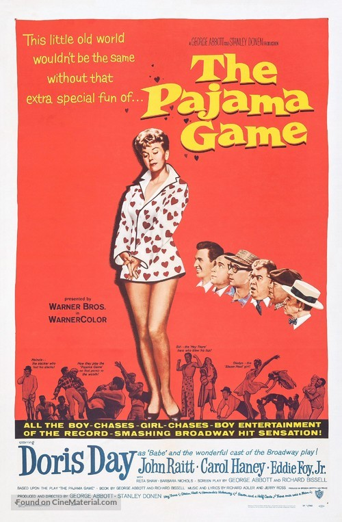 The Pajama Game - Movie Poster