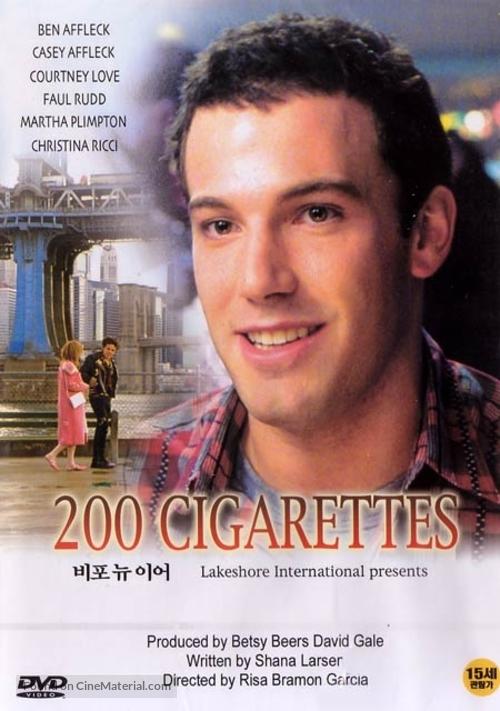200 Cigarettes - South Korean Movie Cover