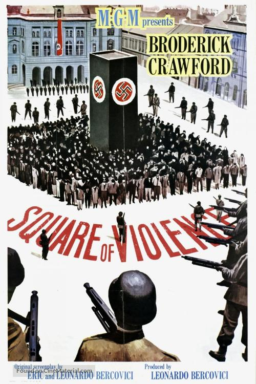 Square of Violence - Movie Poster