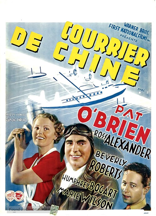 China Clipper - Belgian Movie Poster