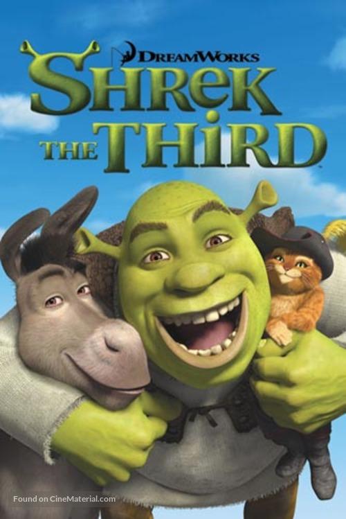 Shrek The Third 2007 Dvd Movie Cover