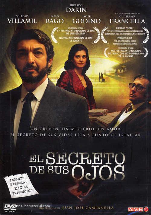 El secreto de sus ojos - Argentinian Movie Cover