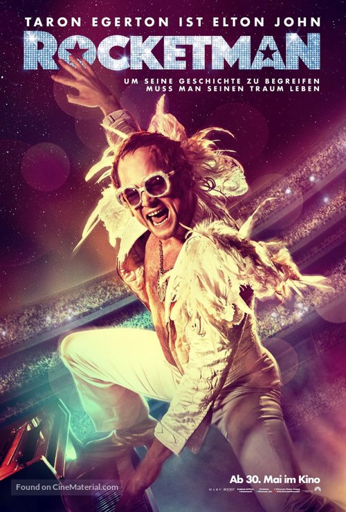 Rocketman - German Movie Poster