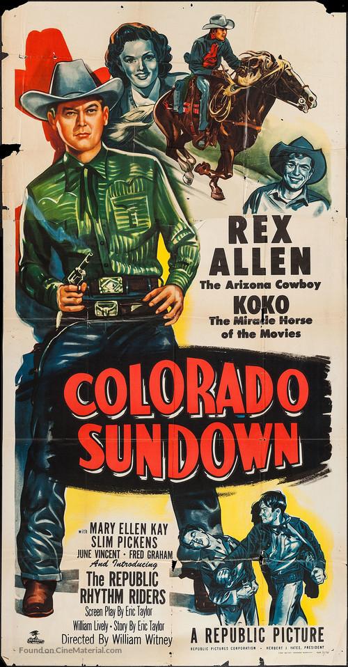 Colorado Sundown - Movie Poster