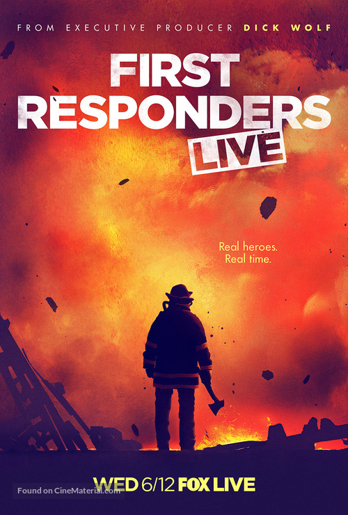 """""""First Responders Live"""" - Movie Poster"""