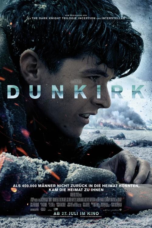 Dunkirk - Swiss Movie Poster